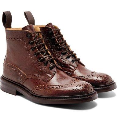 慧眼Z │ Tricker's Stow 經典雕花 繫帶皮鞋 特殊皮革 Alden Prada Grenson HTC