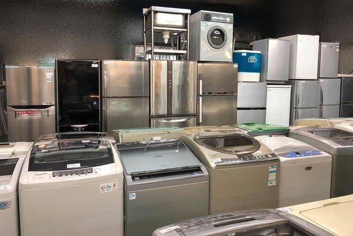 台中二手家具賣場 推薦 大里宏品全新中古傢俱家電 RE110101*TECO東元三門冰箱 冷藏冷凍櫃600公升*二手家電