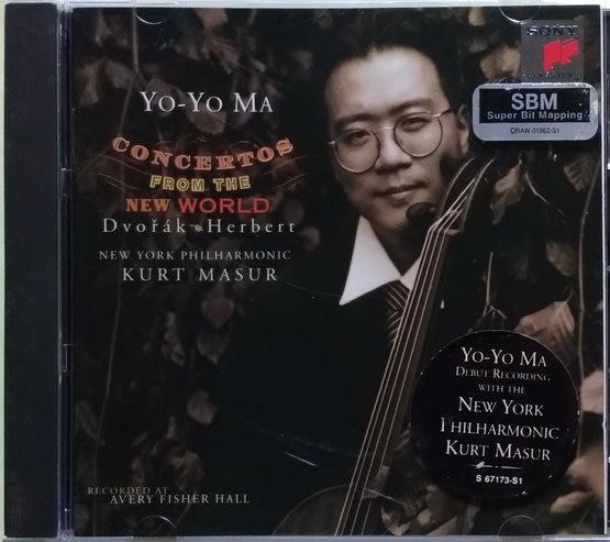 《絕版專賣》馬友友 / 德弗札克 & 赫伯特:大提琴協奏曲 (馬舒 指揮 紐約愛樂)