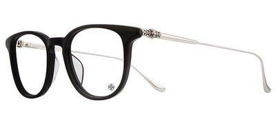 Chrome Hearts PLUCK-BK/SS 學士眼鏡 原廠授權經銷商 公司貨