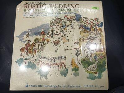 開心唱片 (GOLDMARK / RUSTIC WEDDING) 二手 黑膠唱片 DD583