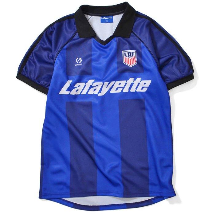 { POISON } LAFAYETTE FOOT BALL JERSEY 年度發行熱昇華印刷狂熱足球衣
