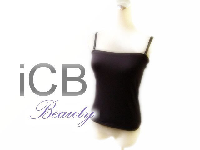 *Beauty*iCB咖啡色細肩帶背心 S號 IR