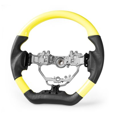 黃綫縫 [真皮] 方向盤 Lexus IS CT NX IS200 CT200h NX200用