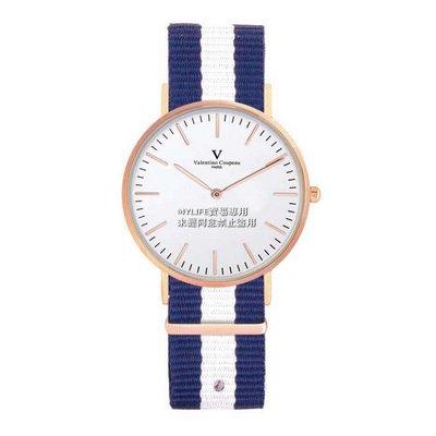 DEC42 61349-7 漾情青春手錶手表日本原裝機芯范倫鐵諾古柏 Valentino Coupeau