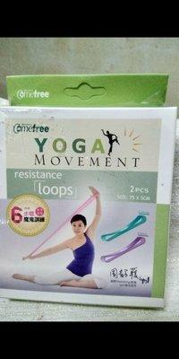 Comefree 瑜珈伸展圈 2ps ##附:教學海報 6步驟魔鬼訓練   期限:2022 10 20