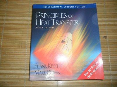 機械系 機械所 原文書 熱傳學 PRINCIPLES OF HEAT TRANSFER 六版
