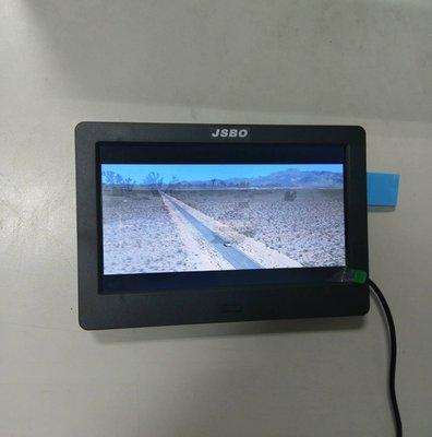 數位電子相框  7 吋 LED 輕薄高清面板**RMVB/USB/SD** 展場廣告專用**