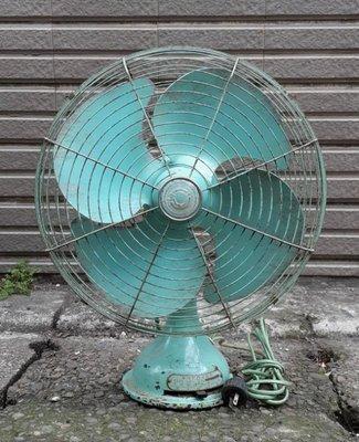 阿爸的珍藏~大同早期古董桌扇 單相交流電風扇 復古電扇(NO 533184)~~功能正常