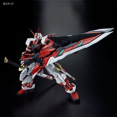 BANDAI PG 鋼彈 異端鋼彈 紅色機 紅異端改 大劍裝備 1/60
