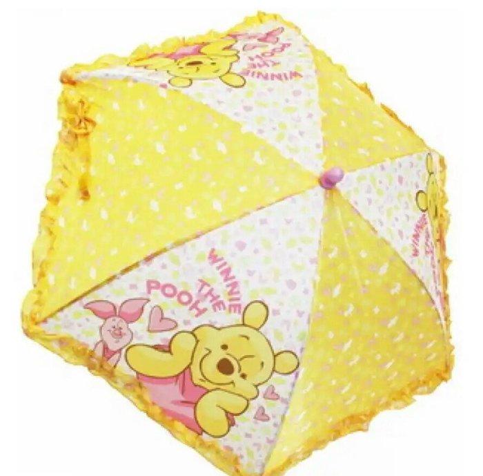天使熊雜貨小舖~日本迪士尼小熊維尼 兒童雨傘  重量約:185g  全新現貨