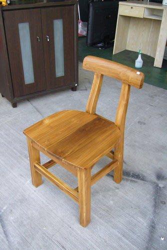 宏品二手傢俱賣場 P1900全實木柚木餐椅 原木洽談椅 書桌椅辦公椅會議椅全省收購二手家具 戶外休閒桌椅