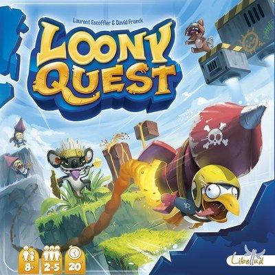骰子人桌遊-(特價)瘋狂進擊 塗鴉任務Loony Quest(繁)怪物仙境(畫畫闖關)