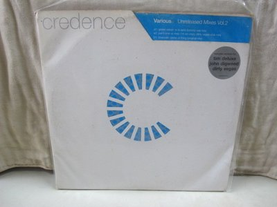 二手舖 NO.4012 黑膠 西洋 Various - Unreleased Mixes Vol.2 雙唱盤
