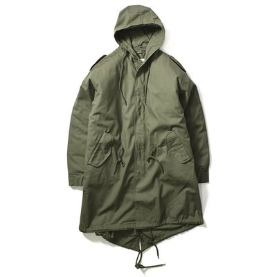 【LOYALTY 】ROTHCO M-51 FISHTAIL PARKA 魚尾大衣 軍裝外套 長板 連帽/軍綠 現貨販售
