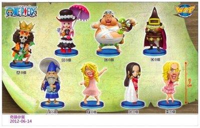 【奇蹟@蛋】 BANPRESTO(景品)海賊王WCF人型Vol.28 修行篇 大全8種 整套販售