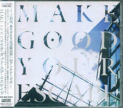 K - Make Good Your Escape - 日版 - NEW