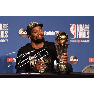 6寸 NBA 凱文杜蘭特  親筆簽名照片新款熱門宣傳照簽名照9  號