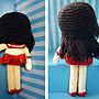 【客製化手工毛線勾針娃娃】美少女戰士火星仙子(火野麗),生日、紀念日禮物