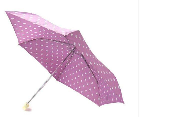 天使熊雜貨小舖~米飛兔 公仔造型雨傘  折傘  附傘套~全新現貨~