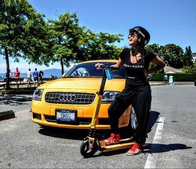 『電池急救站』 以色列 inokim 電動滑板車 台灣經銷商 inokim Light2 / 黃色 / 歡迎試乘