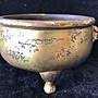 鎏金老銅爐(三腳爐)