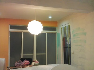 【瑞晟油漆】住家油漆分色.矽酸鈣板木板 .壁癌處理