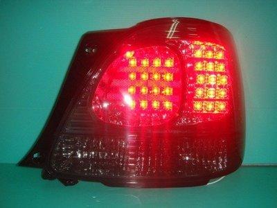 ☆小傑車燈家族☆超炫外銷凌志LEXUS GS300燻黑LED尾燈6000元搭配光圈大燈享特價