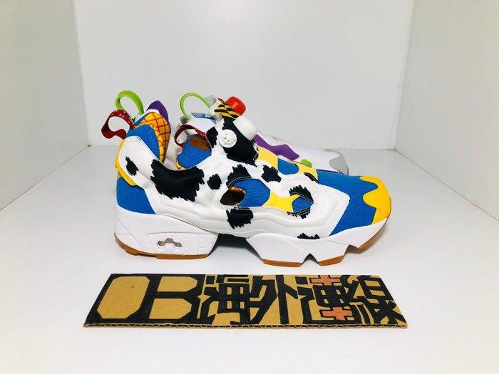 【OB海外代購】 TOY STORY X REEBOK PUMP 巴斯 玩具總動員 胡迪 聯名 充氣 EG7834