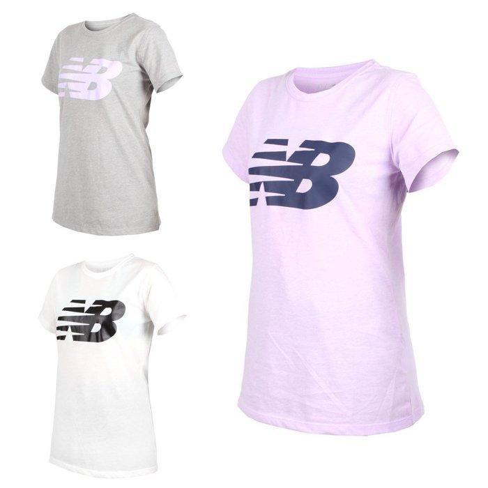 NEW BALANCE 女短袖T恤 (短T 短袖上衣 慢跑 路跑 NB【03312976】≡排汗專家≡