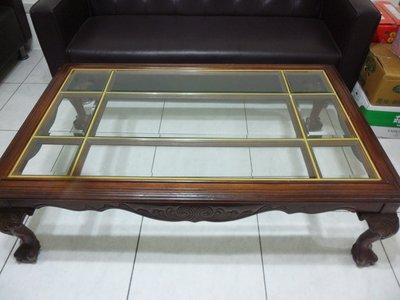 紫色小館-42--------早期原木桌