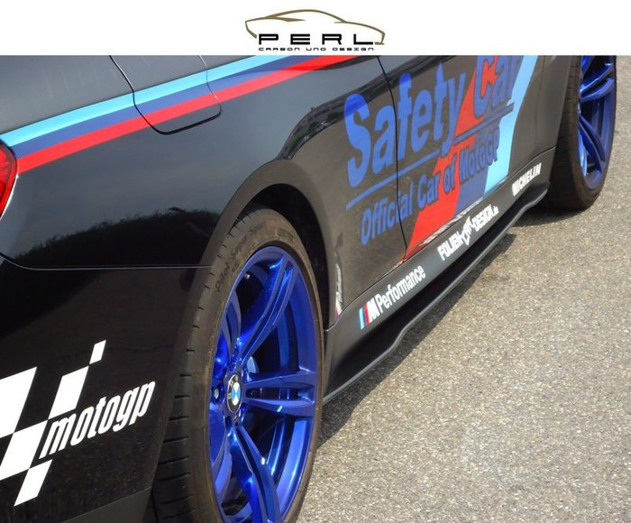 【樂駒】Perl Carbon Design BMW F82 M4 側裙 車側 飾板 碳纖維 輕量化 外觀 套件 改裝