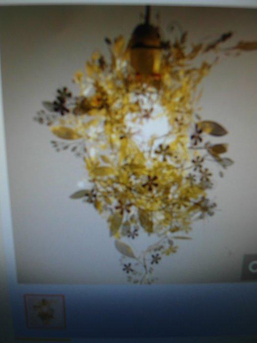 浪漫滿屋 美國Artecnica創意 ****花瓶.吊燈.燈罩 裝飾燈****塑型鋼片(金色)6片裝
