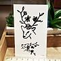 【萌古屋】Y系列樹枝鹿角 - 男女防水紋身貼紙刺青貼紙K13