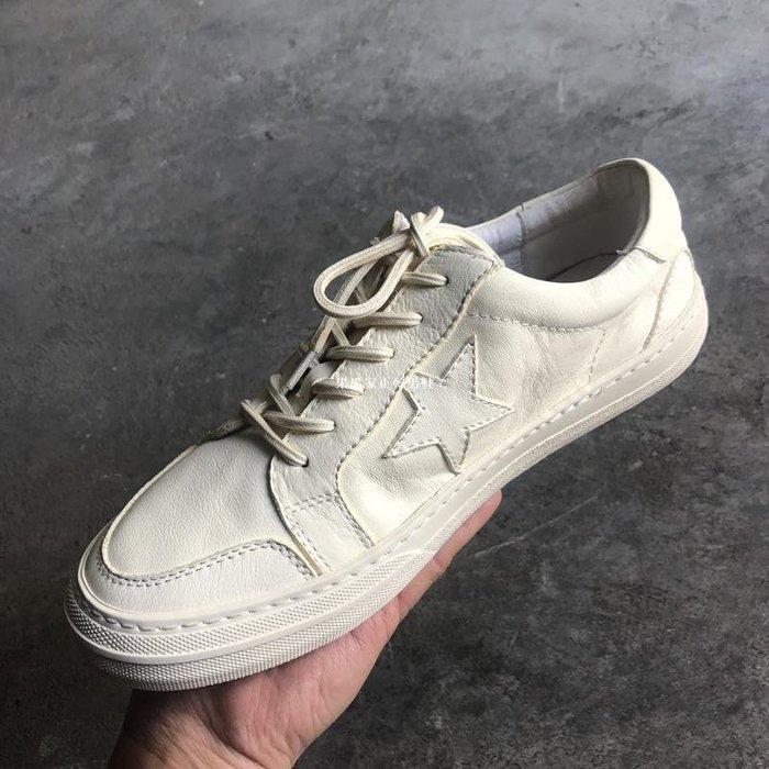 果果家正韓男鞋小白鞋男2020夏季新品真皮板鞋 歐美軟底潮鞋時尚簡約休閒鞋子 男
