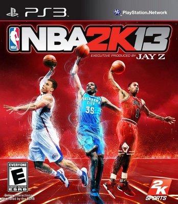 PS3亞版中古品~美國職籃《 NBA 2K13 》(中文版)--無說明書 台北市