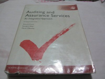 Auditing and Assurance Services附光碟》ISBN:0273790005(ㄌ102袋)半本水