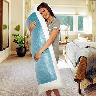 【普羅恩歐美枕頭館】美國 Mindful Design長冰抱枕 Cooling Body pillows