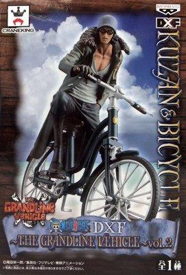 日本正版景品 海賊王 航海王THE GRANDLINE VEHICLE vol.2 青雉 腳踏車 DXF 公仔 日本代購