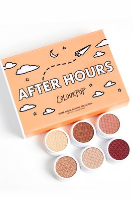 MIKO正韓專賣~colourpop 六色土豆泥眼影套裝 套盒 after hours polite AF