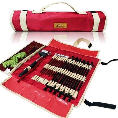 地釘收納袋(可收提)62x44cm    (可放地釘.錘子.營繩.扣具)