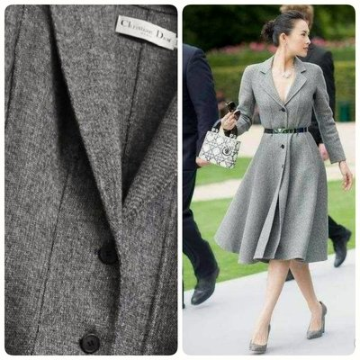 Dior 洋裝大衣 灰色