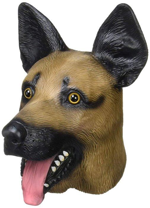 【beibai不錯買】派對道具 變裝 搞笑面具 整人玩具 日本進口 動物面具 狼犬面具