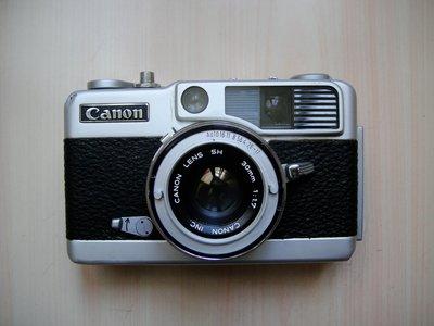 【康泰典藏】CANON demi EE17 經典半格相機~功能正常~隨買隨拍~EE-2.EE-3 玩家可參考