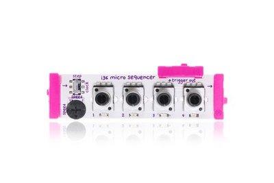 美國 littleBits 零件 (input): MICRO SEQUENCER (8折出清)