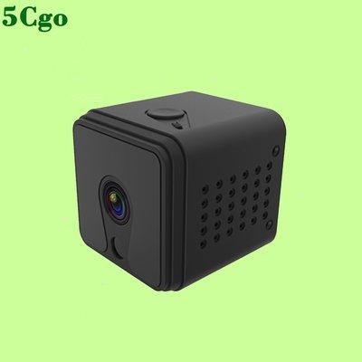 5Cgo【含稅】喬安小攝像頭mini網絡遠程高清夜視可連手機監控器家用遠程免插電可待機安裝簡單573960497266