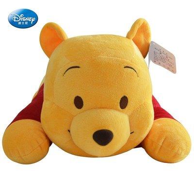 【熱銷特惠商品!!!】迪士尼正品  趴姿小熊維尼 創意維尼熊娃娃 53CM 趴趴熊 毛絨玩具 抱枕 枕頭 生日聖誕禮物