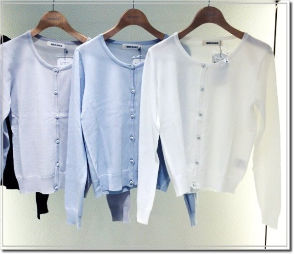 【WildLady】 mew's misch masch日本夏季薄款水鑽糖果色防曬衫 小外套 空調衫