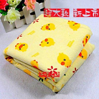 米樂小鋪  特價中 尿布墊黃色小鴨尿布墊120X70 大號  防水尿墊隔尿墊生理墊保潔墊