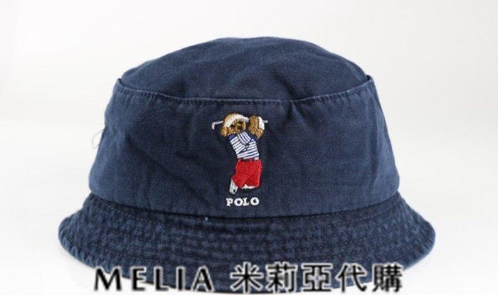 Melia 米莉亞代購 美國店面+網購 Ralph Lauren Polo 潮流帽 漁夫帽 高爾夫小熊刺繡 衝評價